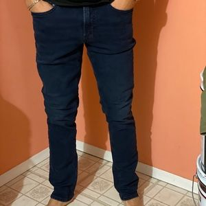 Men's old navy blue black slim fit jeans